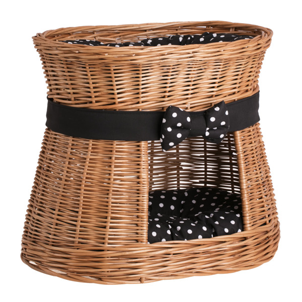 Handmade Wicker Dog Basket : Handmade wicker pet basket beds for dogs cats news