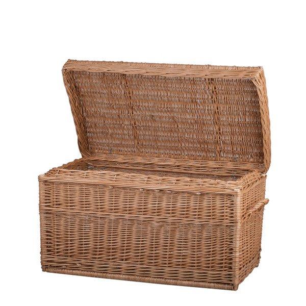 Wicker Baskets, Wicker Storage Trunks And Chests
