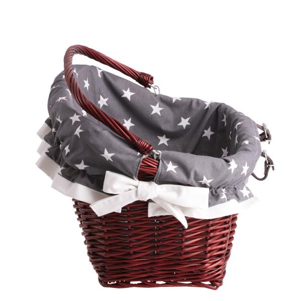 fahrradkorb in dunkelrot fahrrad und picknickk rbe online shop mit weidenprodukte und. Black Bedroom Furniture Sets. Home Design Ideas