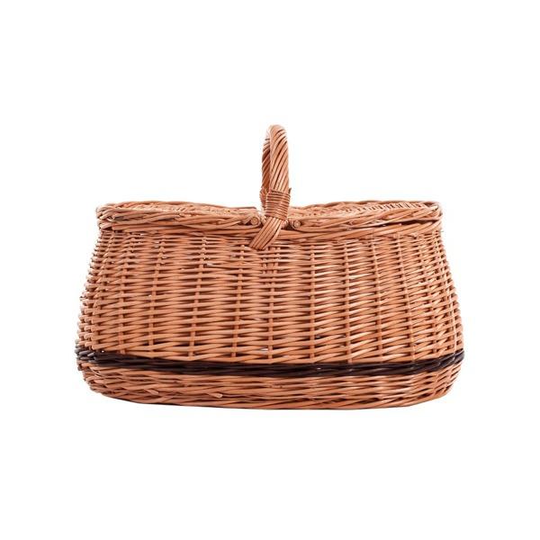 picknickkorb aus weide zweideckelkorb fahrrad und picknickk rbe online shop mit. Black Bedroom Furniture Sets. Home Design Ideas