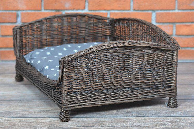rechteckiger hundekorb katzenkorb aus weide 74x52 h15 39 k rbe f r tiere online shop mit. Black Bedroom Furniture Sets. Home Design Ideas