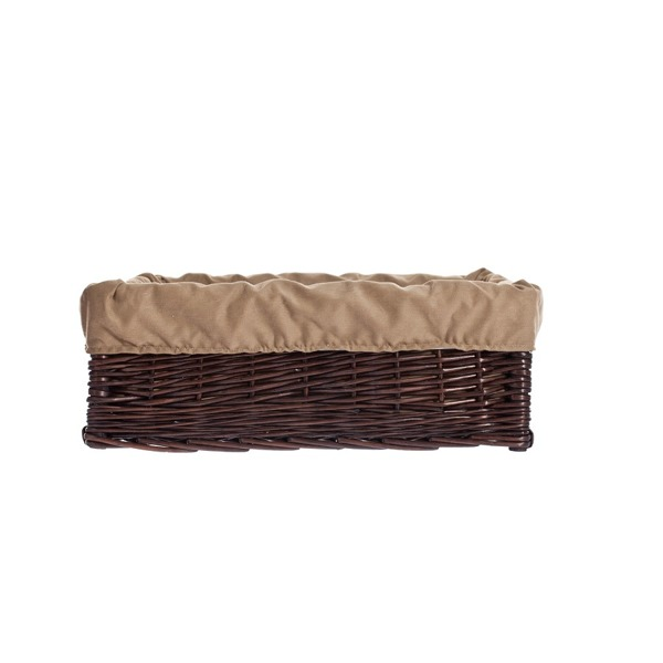 rechteckiger hundekorb aus weide dunkelbraun kontakt sonderangebot k rbe f r tiere online. Black Bedroom Furniture Sets. Home Design Ideas